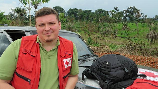 Wiener Arzt bricht erneut zu Ebola-Einsatz auf (Bild: Österreichisches Rotes Kreuz)