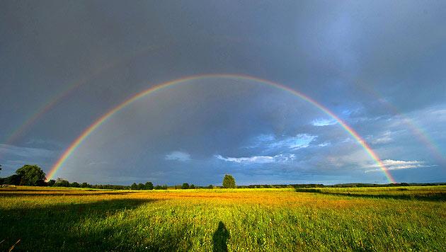 Wochenende bringt Gewitter, Regen - und Sonne (Bild: APA/EPA/STEFAN SAUER)