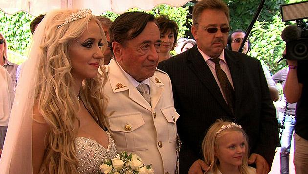 Richard Lugners verrückte Hochzeitspläne (Bild: krone.tv)