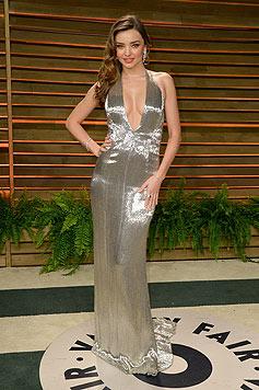 "Miranda Kerr lässt auf einer ""Vanity Fair""-Party tief blicken. (Bild: AFP/Pascal Le Segretain)"