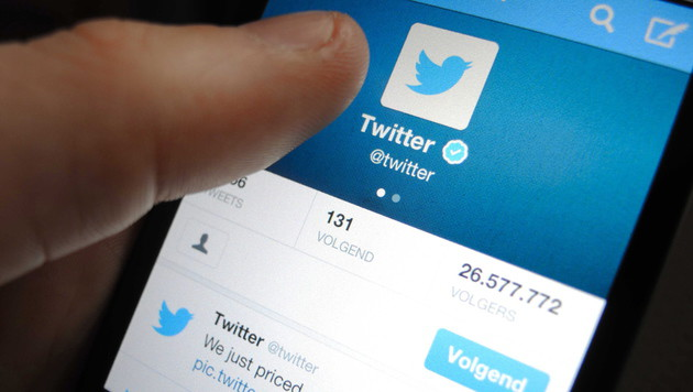 Twitter analysiert Handys bald für Reklamezwecke (Bild: APA/EPA/LEX VAN LIESHOUT)