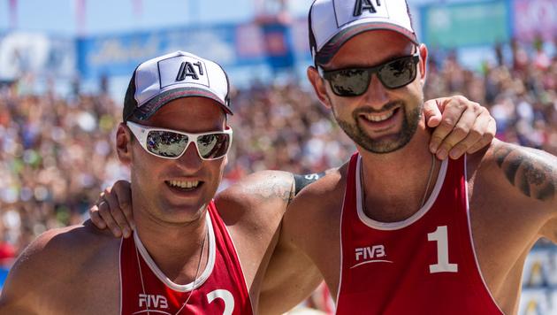 Finaltag heißt das große Ziel von Clemens und Alex (Bild: EXPA/Gert Steinthaler)