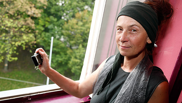 """""""Krone""""-Leserreporterin Krystyna Kelemen hielt die dramatischen Szenen mit ihrem Fotoapparat fest. (Bild: Zwefo)"""