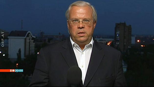 ORF-Reporter Wehrschütz in Ostukraine verhaftet (Bild: tvthek.orf.at)