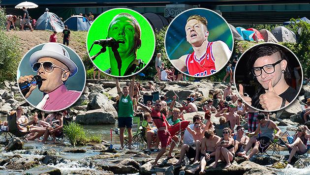 Frequency Festival wartet mit Topstars auf (Bild: APA, EPA, AP, AFP, Andreas Graf)