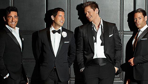 Il Divo: Die Broadway-Boys schlagen in Wien auf (Bild: Sony Music)