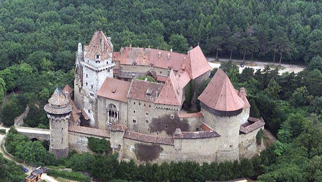 """Die Burg Kreuzenstein (NÖ) diente als mittelalterliches Fantasy-Universum """"Everland"""". (Bild: Andi Schiel)"""
