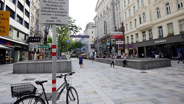 Kostenloses WLAN: Mariahilfer Straße geht online (Bild: APA/GEORG HOCHMUTH)