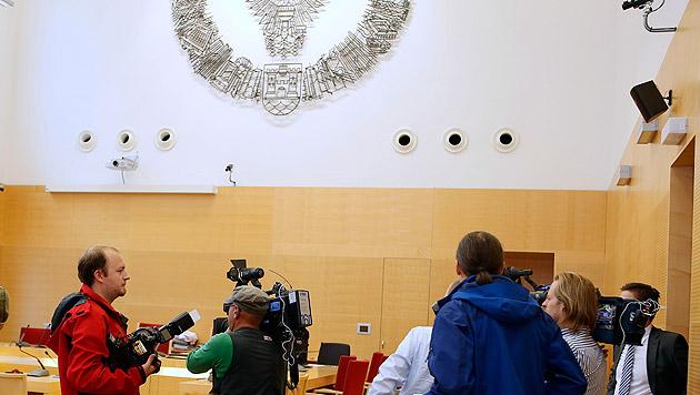 "Prozessstart gegen kriminelles Duo von ""Objekt 21"" (Bild: APA/RUBRA)"