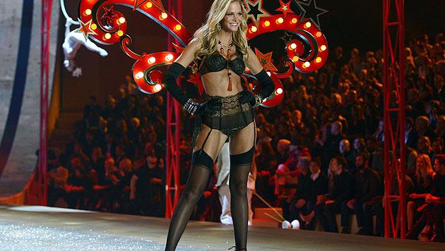 Toni Garrn gehört zu den schönsten Engeln der 'Victoria's Secret'-Show. (Bild: AFP/Timothy A. Clary)
