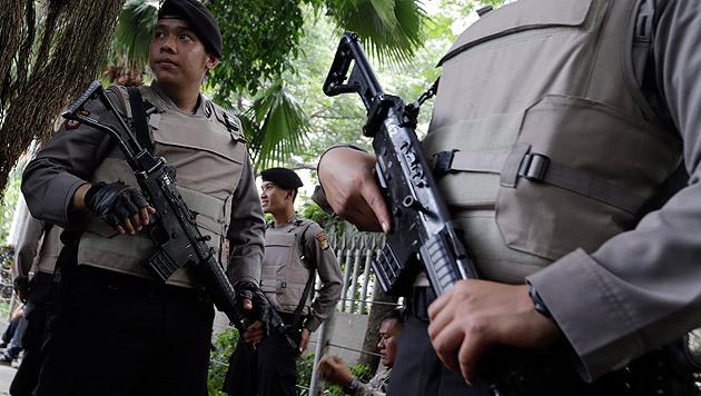Frau aus Wels in Jakarta verurteilt: 18 Jahre Haft (Bild: APA/EPA/MAST IRHAM (Symbolbild))
