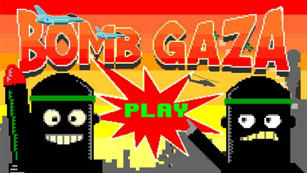 """Handyspiel """"Bomb Gaza"""" sorgt für Aufregung (Bild: apps.facebook.com/bombgaza)"""