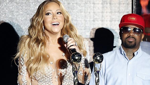 Seit 2008 ist Mariah Carey mit Nick Cannon verheiratet. (Bild: APA/EPA/SEBASTIEN NOGIER)