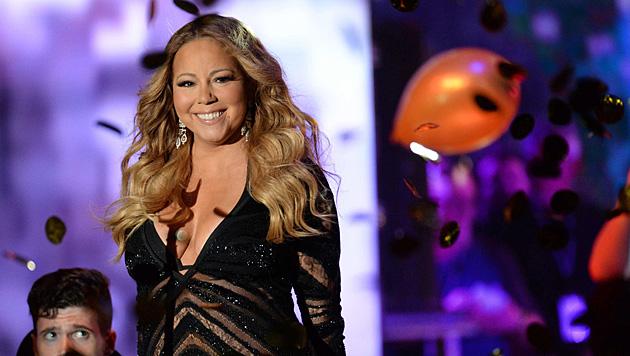 Mariah Carey liebt den großen Auftritt wie keine andere. (Bild: APA/EPA/PIROSCHKA VAN DE WOUW)