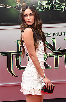 "Megan Fox bei der ""Ninja Turtles""-Premiere in Los Angeles (Bild: AFP/ROBYN BECK)"