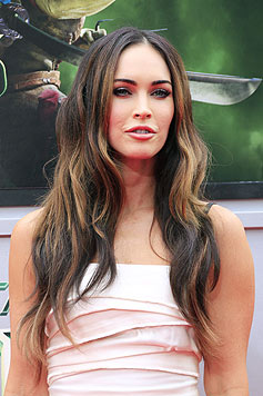 "Megan Fox bei der ""Ninja Turtles""-Premiere in Los Angeles (Bild: EPA/NINA PROMMER)"