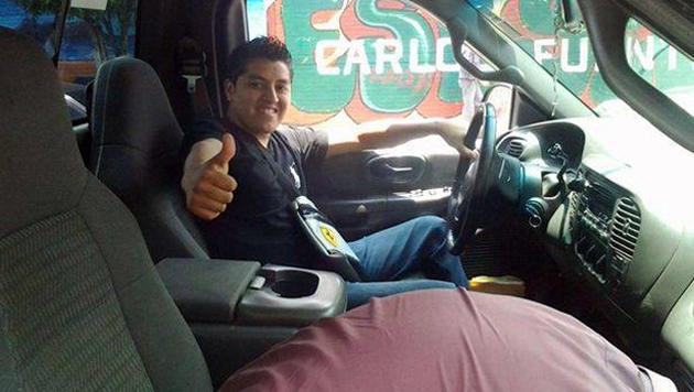 Pechvogel erschoss sich beim Selfie-Knipsen selbst (Bild: facebook.com/pages/Oscar-Otero-Aguilar)
