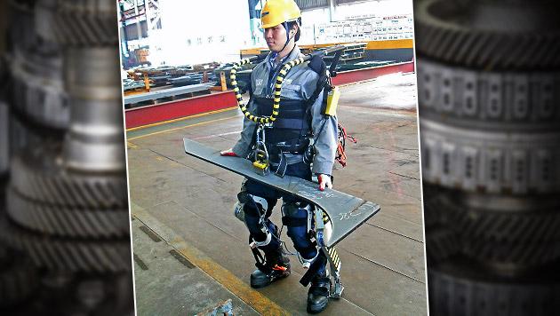 "Exoskelett verleiht Werftarbeitern ""Superkräfte"" (Bild: Daewoo, thinkstockphotos.de)"
