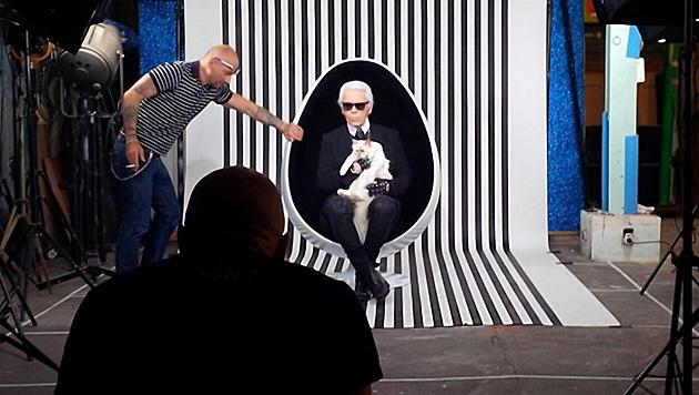 """Mit """"Choupette: The Private Life of a High-Flying Fashion Cat"""" setzt Karl seiner Katze ein Denkmal. (Bild: Viennareport)"""