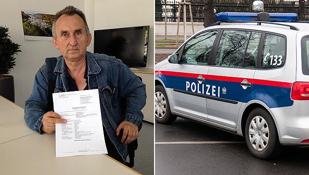Wladyslaw Szymanski hat nach der Attacke große Angst. (Bild: Samuel Thurner, Andreas Graf)