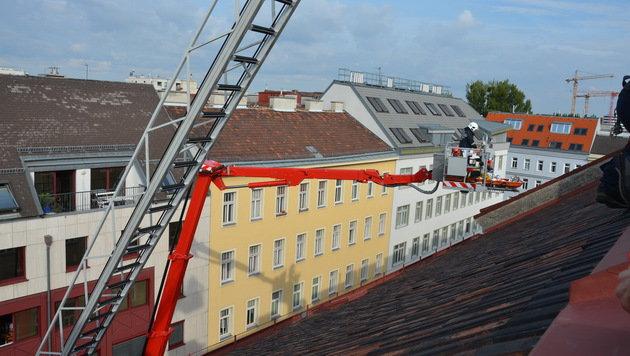 Wien: Arbeiter fünf Stöcke in die Tiefe gestürzt (Bild: MA 68 Lichtbildstelle)