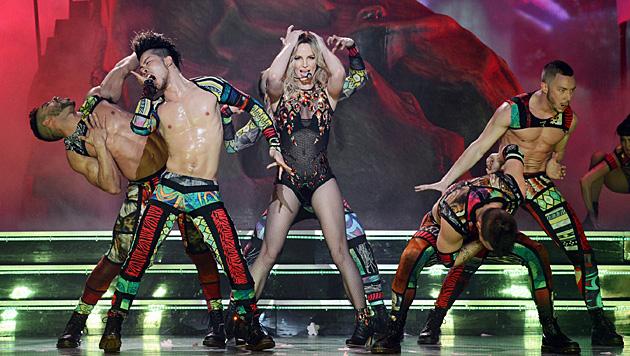 """Sexy Outfits dürfen bei der """"Piece Of Me""""-Show freilich nicht fehlen. (Bild: twitter.com/britneyspears)"""