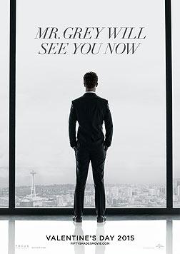 """Das Filmplakat zu """"Fifty Shades of Grey"""": """"Mr. Grey erwartet Sie"""" (Bild: UPI)"""