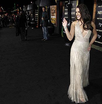"""Die 1,59 Meter kleine US-Aktrice Lea Michele wurde mit der US-Serie """"Glee"""" berühmt."""