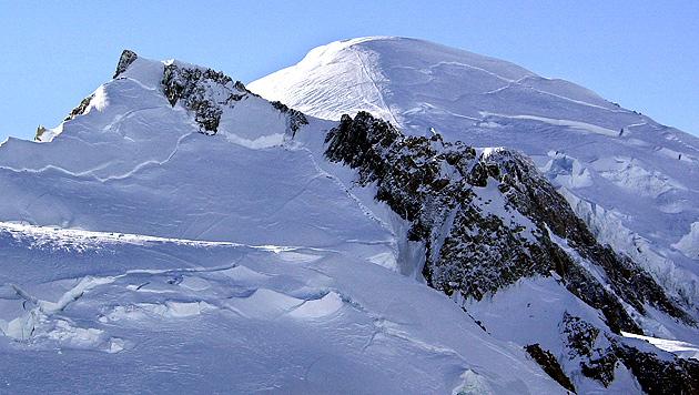 Österreicher wollten mit Sohn (5) auf Mont Blanc (Bild: AP)
