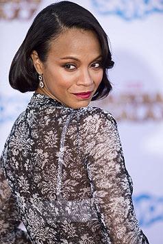 """Sie spielt die legendäre Rolle der Uhura in den neuen """"Star Trek""""-Filmen. (Bild: AFP/ROBYN BECK)"""