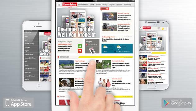 Die neue mobile Welt von krone.at