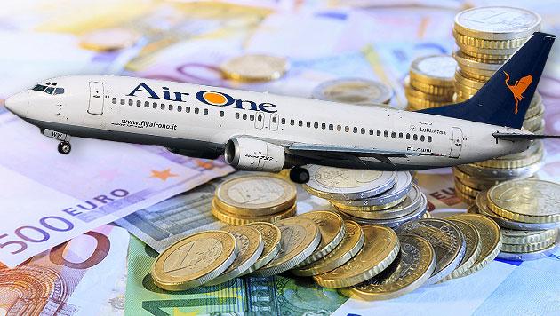 Italienische Airline am Flughafen Wien gepfändet (Bild: thinkstockphotos.de, Wikicommons/w:es:UsarioBarcex)