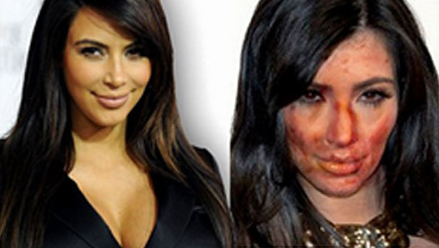 Kim Kardashian ist unfreiwillig zum Crystal-Meth-Opfer geworden. (Bild: Screenshot www.bradleysheriff.com)