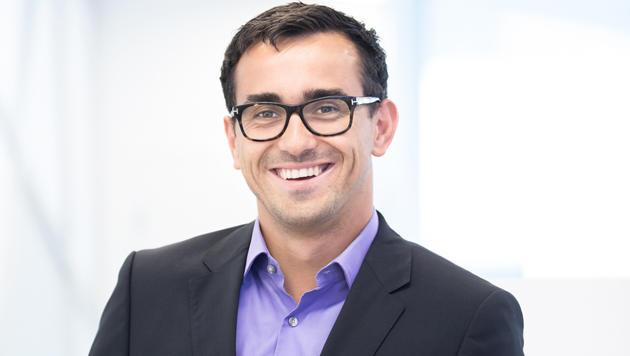 """Philipp Majdic ist der Betreiber des ersten Wiener """"Samsung Experience Stores"""". (Bild: Philipp Majdic)"""