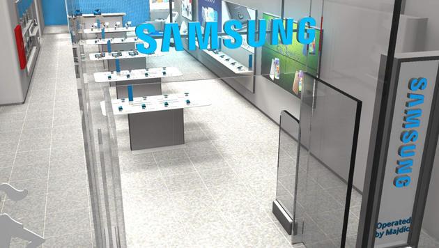 """Wien bekommt ersten """"Samsung Experience Store"""" (Bild: Philipp Majdic)"""