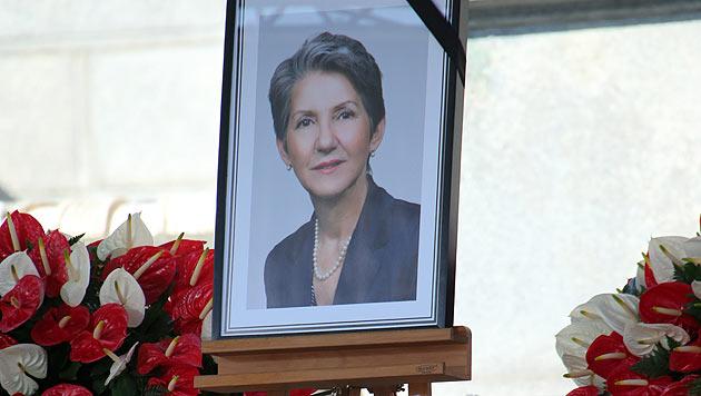 "Fischer: ""Wir danken dir, liebe, tapfere Barbara"" (Bild: Peter Tomschi)"