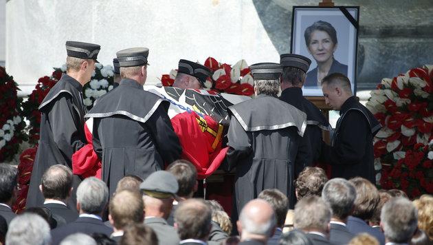 """Fischer: """"Wir danken dir, liebe, tapfere Barbara"""" (Bild: Reinhard Holl)"""