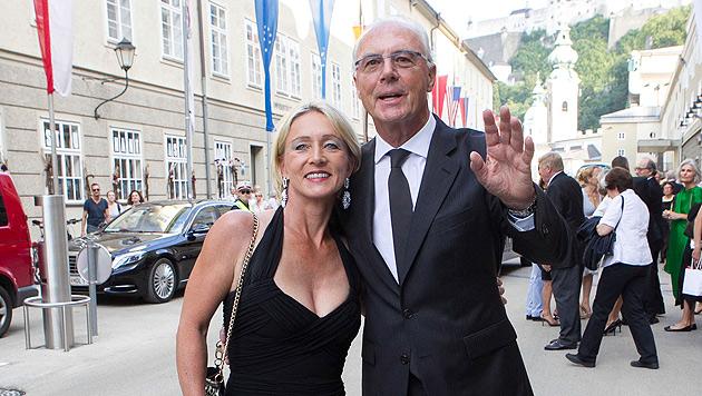 Heidi und Franz Beckenbauer (Bild: APA/NEUMAYR/PROBST)