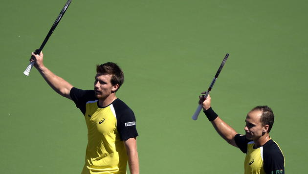 Alex Peya holt Masters-Sieg mit Soares (Bild: APA/EPA/MICHAEL NELSON)