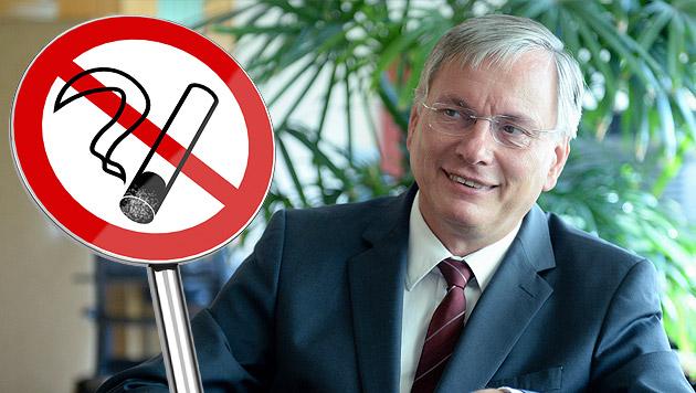 Gesundheitsminister drängt auf rauchfreie Lokale (Bild: APA/ROLAND SCHLAGER, thinkstockphotos.de, krone.at-Grafik)