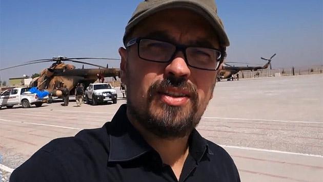 Michel Reimon ist in den Irak gereist, um das Leid der Jesiden zu dokumentieren. (Bild: YouTube.com)