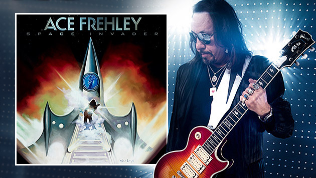 "Ace Frehley hebt mit ""Space Invaders"" ab (Bild: Steamhammer)"