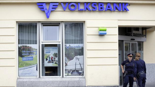 Bankräuber droht mit Bombe und flüchtet mit Beute (Bild: APA/GEORG HOCHMUTH)