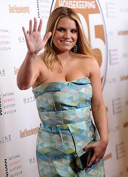 Jessica Simpson ist in ihrem Leben bereits durch dick und dünn gegangen. (Bild: AP/Stephen Lovekin)