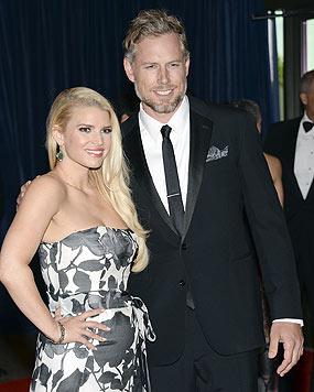 Für ihre Hochzeit mit Sänger und Gitarrist Eric Johnson nahm sie über 20 Kilo ab. (Bild: AP)