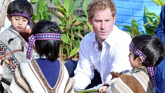 Wie seine Mutter Prinzessin Diana engagiert sich Harry auch für etliche karitative Projekte. (Bild: APA/EPA/BRITISH EMBASY)