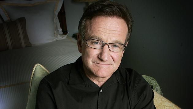 Robin Williams, hier bei einem Interview 2007, starb am 11.8.2014 in seinem Haus in Kalifornien. (Bild: AP)