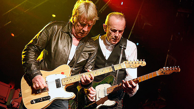 Status Quo-Gitarrist Rick Parfitt fällt länger aus (Bild: Dave Coulson)