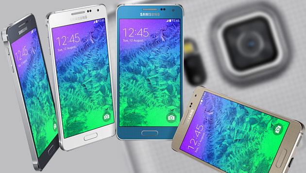 Alpha: Neues Galaxy mit Metall-Rahmen von Samsung (Bild: Samsung, krone.at-Grafik)