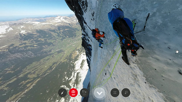 """Project 360"""": Eigernordwand virtuell erklimmen - Mit wenigen Klicks ..."""